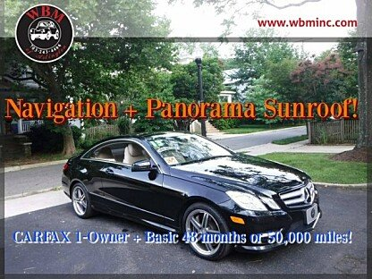 2013 Mercedes-Benz E550 Coupe for sale 100881376