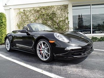 2013 Porsche 911 Carrera S Cabriolet for sale 100815799