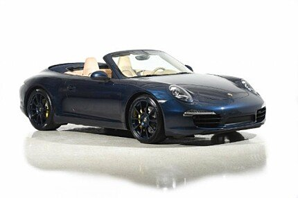 2013 Porsche 911 Carrera S Cabriolet for sale 100942925