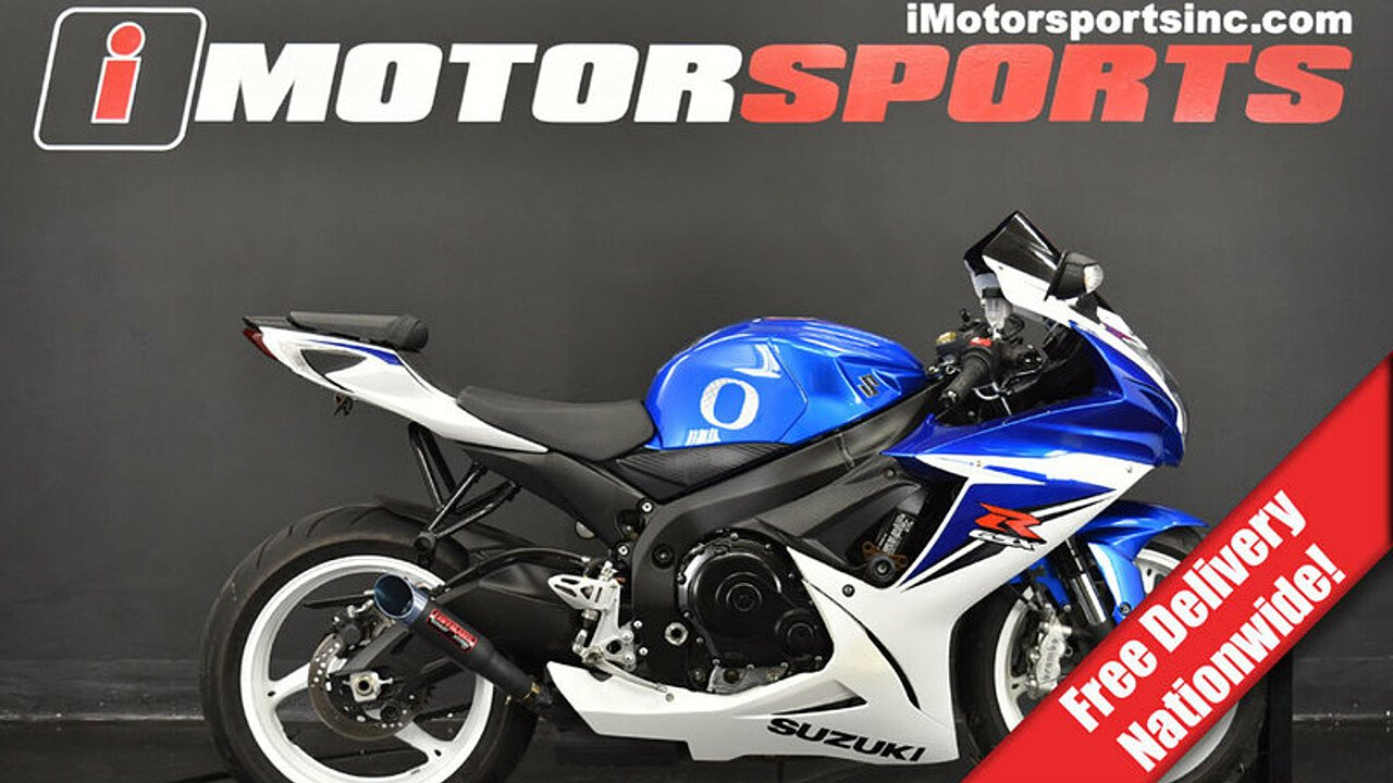 2013 Suzuki GSX-R600 for sale 200611830