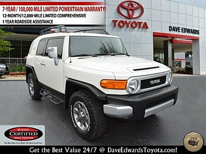 2013 Toyota FJ Cruiser 4WD for sale 100834502