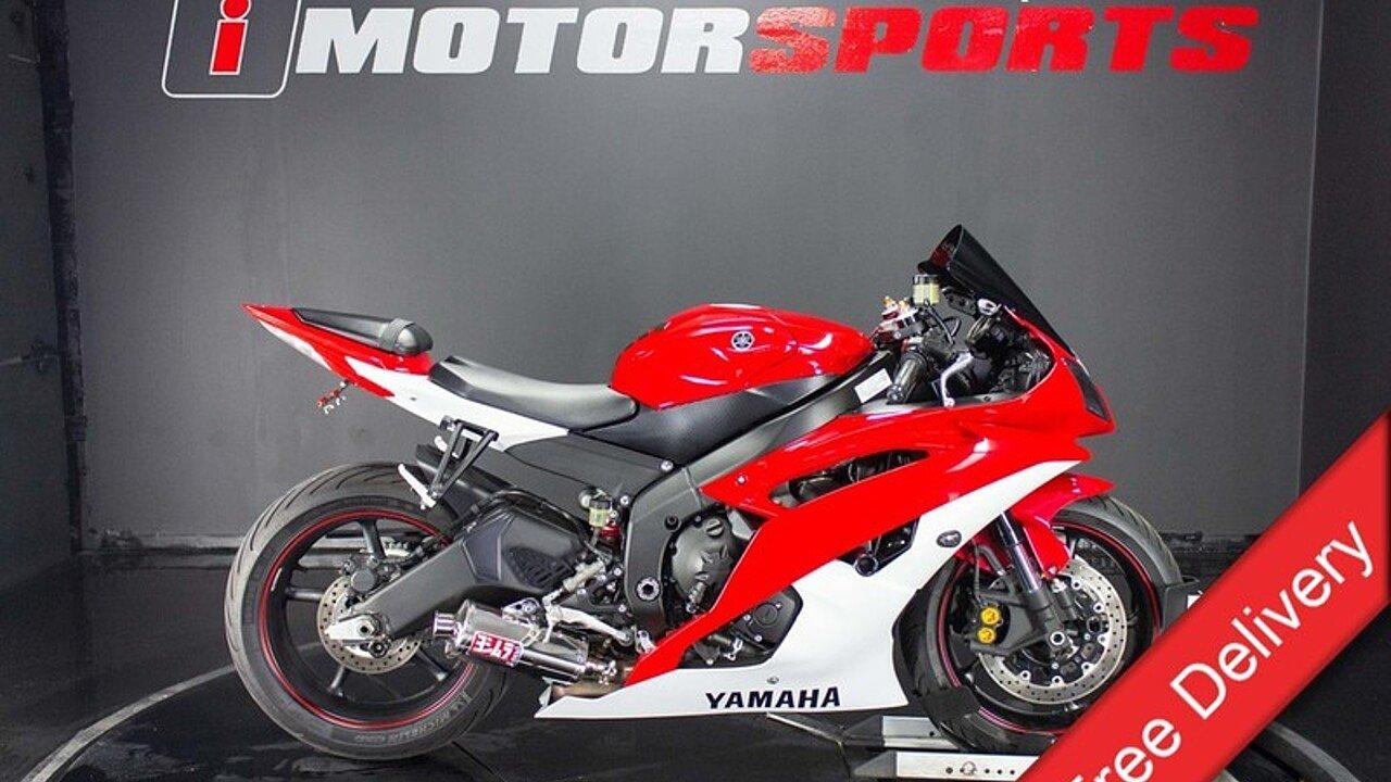 2013 Yamaha YZF-R6 for sale 200593824