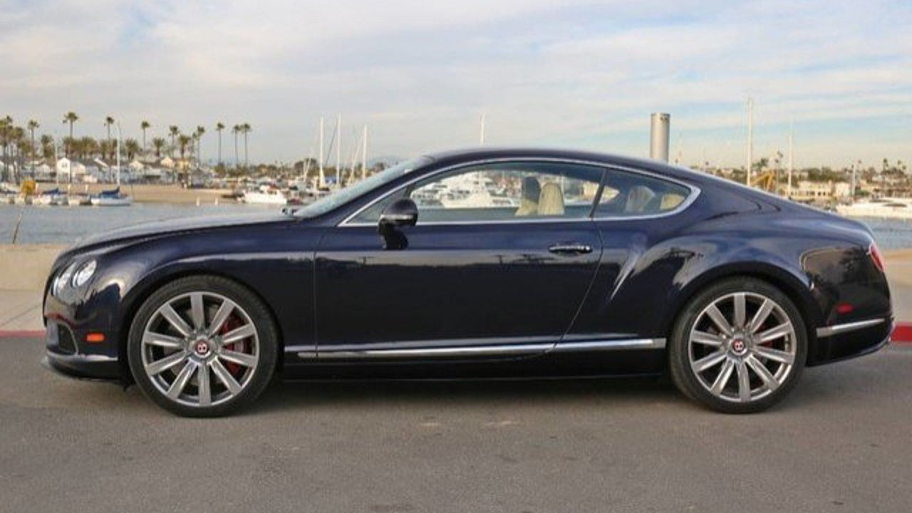 2014 Bentley Continental GT V8 S Coupe for sale near Newport Beach ...