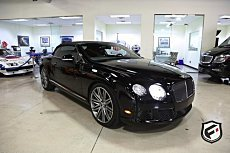 2014 Bentley Continental GTC Speed Convertible for sale 101046001