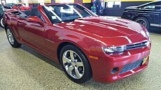 2014 Chevrolet Camaro LT Convertible for sale 100887571