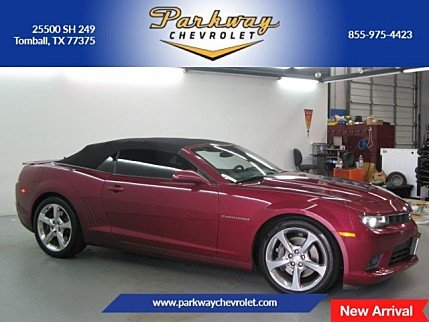 2014 Chevrolet Camaro SS Convertible for sale 100981692
