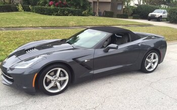 2014 Chevrolet Corvette Convertible for sale 100755210
