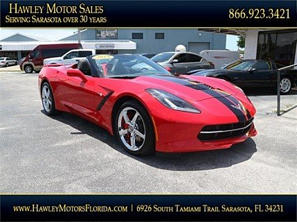 2014 Chevrolet Corvette Convertible for sale 100987740