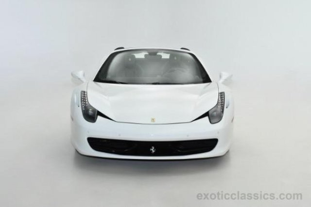 ferrari 2014 white. 2014 ferrari 458 italia spider for sale 100864085 white e