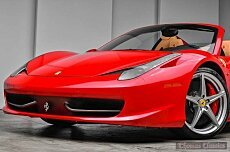 2014 Ferrari 458 Italia Spider for sale 101017433
