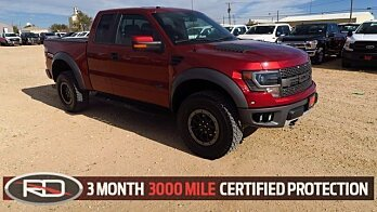 2014 Ford F150 4x4 SuperCab SVT Raptor for sale 100927994