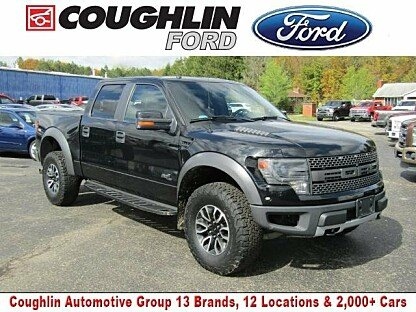 2014 Ford F150 4x4 Crew Cab SVT Raptor for sale 100910580
