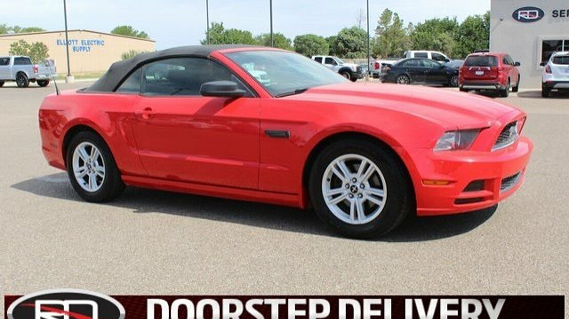 2014 Ford Mustang Convertible for sale 101003937