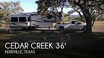 2014 Forest River Cedar Creek for sale 300171313