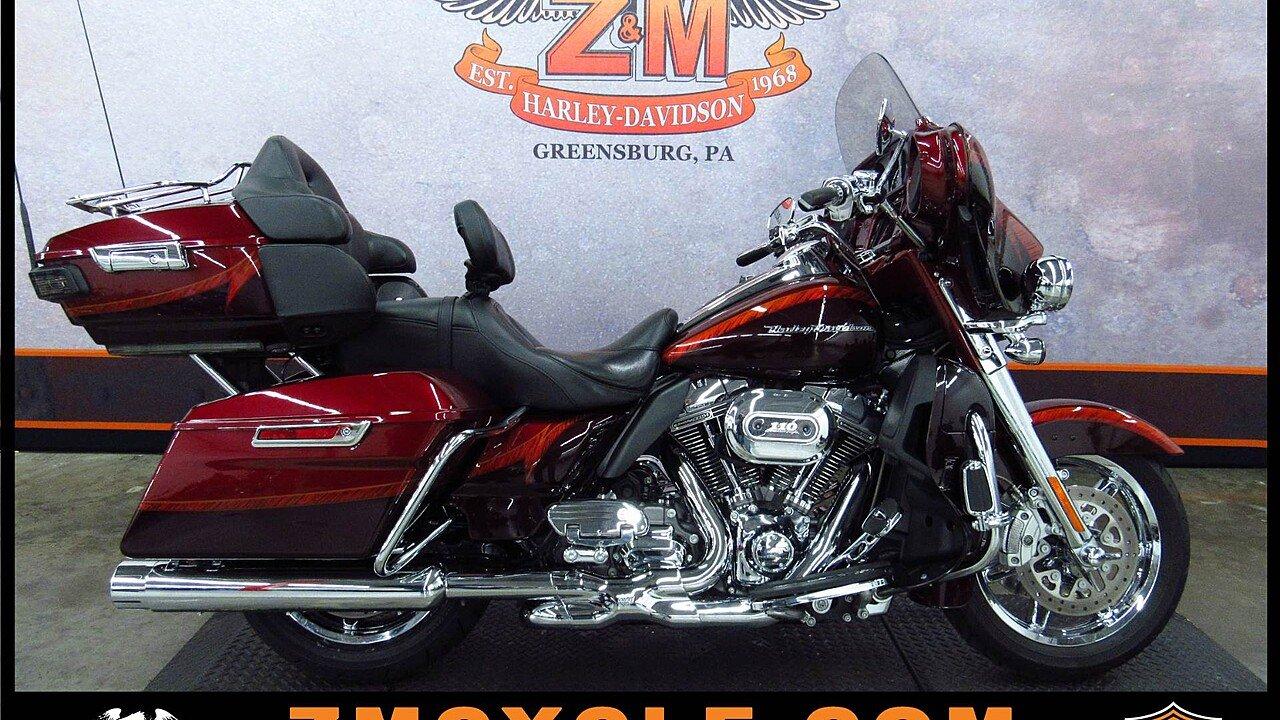 2014 Harley-Davidson CVO for sale 200498454