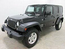 2014 Jeep Wrangler 4WD Unlimited Sport for sale 100757875