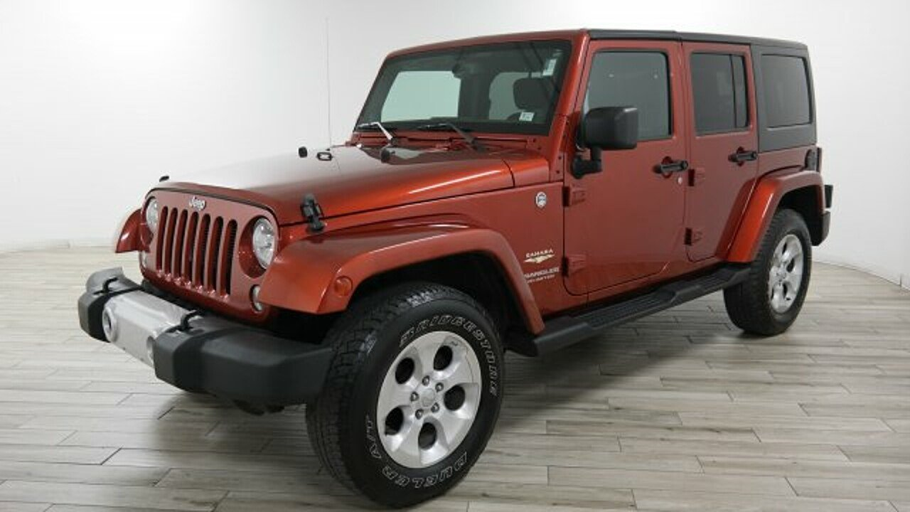 2014 Jeep Wrangler 4WD Unlimited Sahara for sale 100905598
