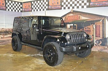 2014 Jeep Wrangler 4WD Unlimited Sahara for sale 100997978