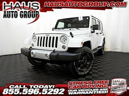 2014 Jeep Wrangler 4WD Unlimited Sahara for sale 100911750