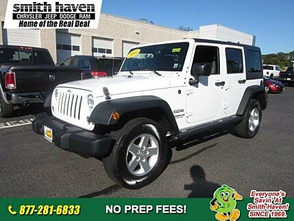 2014 Jeep Wrangler 4WD Unlimited Sport for sale 100916612
