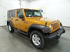 2014 Jeep Wrangler 4WD Unlimited Sport for sale 100929114