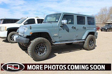 2014 Jeep Wrangler 4WD Unlimited Sahara for sale 100968406