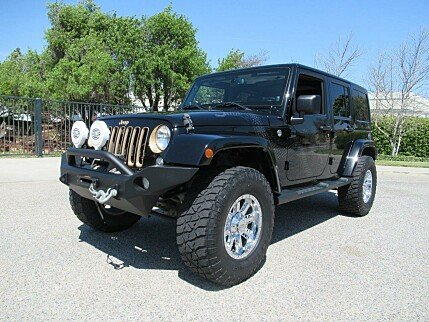 2014 Jeep Wrangler 4WD Unlimited Sahara for sale 100977979