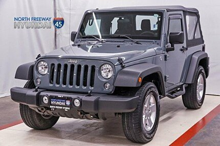 2014 Jeep Wrangler 4WD Sport for sale 100987165