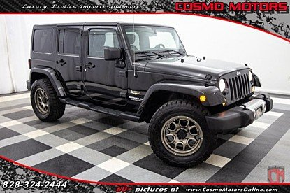 2014 Jeep Wrangler 4WD Unlimited Sahara for sale 100988143