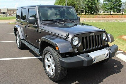 2014 Jeep Wrangler 4WD Unlimited Sahara for sale 100989542
