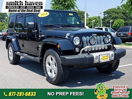 2014 Jeep Wrangler 4WD Unlimited Sahara for sale 100992635