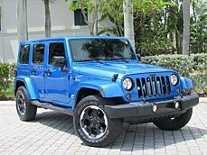 2014 Jeep Wrangler 4WD Unlimited Sahara for sale 100993349