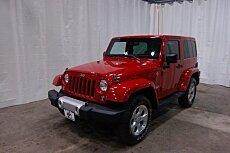 2014 Jeep Wrangler 4WD Sahara for sale 100994110