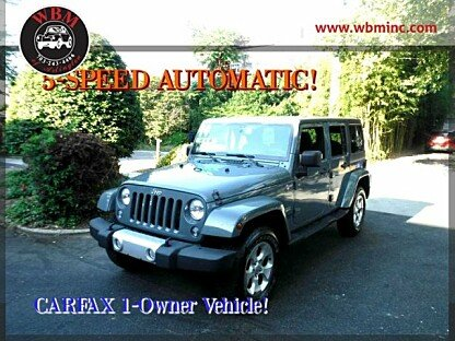 2014 Jeep Wrangler 4WD Unlimited Sahara for sale 101003292