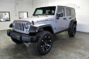 2014 Jeep Wrangler 4WD Unlimited Rubicon for sale 101041291