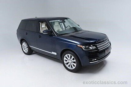 2014 Land Rover Range Rover HSE for sale 100799103
