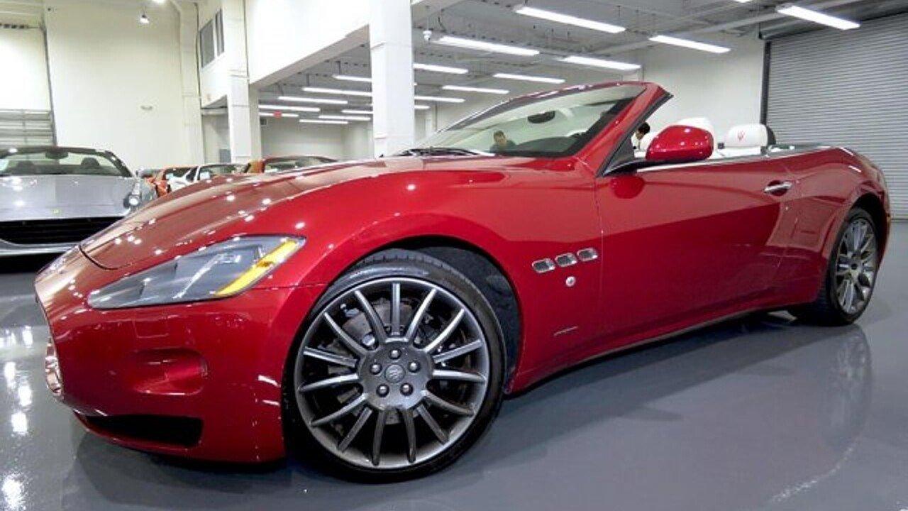2014 Maserati GranTurismo Convertible for sale 101013912
