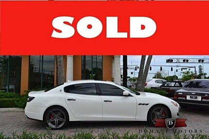 2014 Maserati Quattroporte GTS for sale 100782662