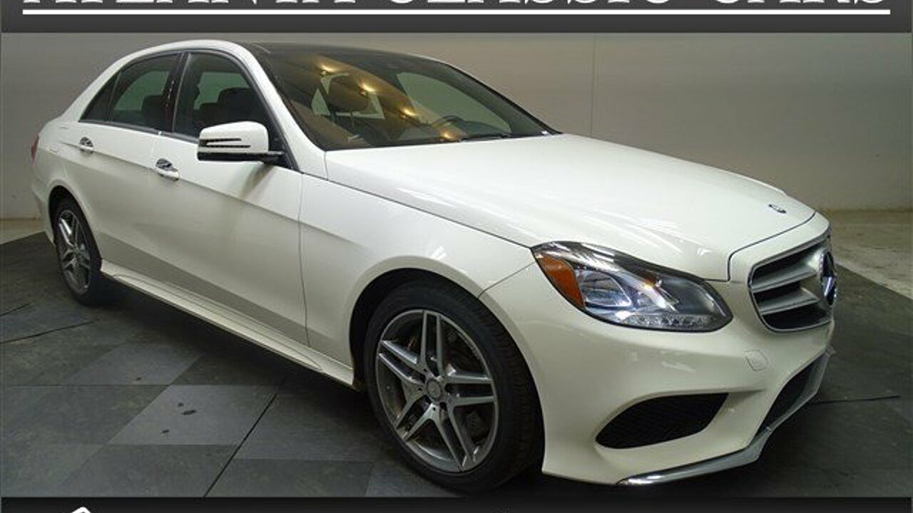 2014 Mercedes-Benz E550 4MATIC Sedan for sale 100975952