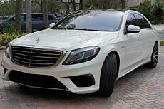 2014 Mercedes-Benz S63 AMG 4MATIC Sedan for sale 100747828