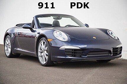 2014 Porsche 911 Carrera Cabriolet for sale 101032897