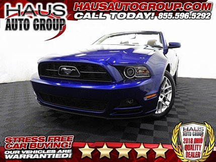 2014 ford Mustang Convertible for sale 101022769
