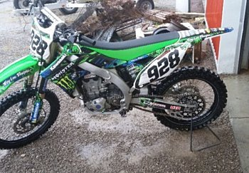 2014 kawasaki KX450F for sale 200504319