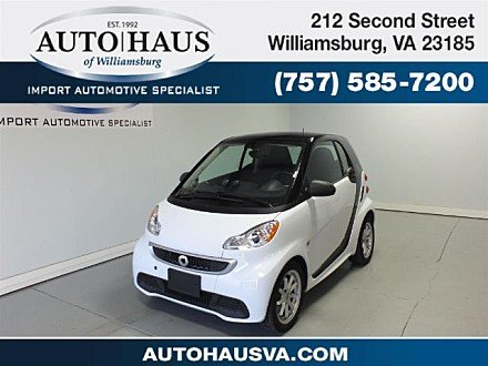 2014 smart fortwo electric drive Coupe for sale 100916431