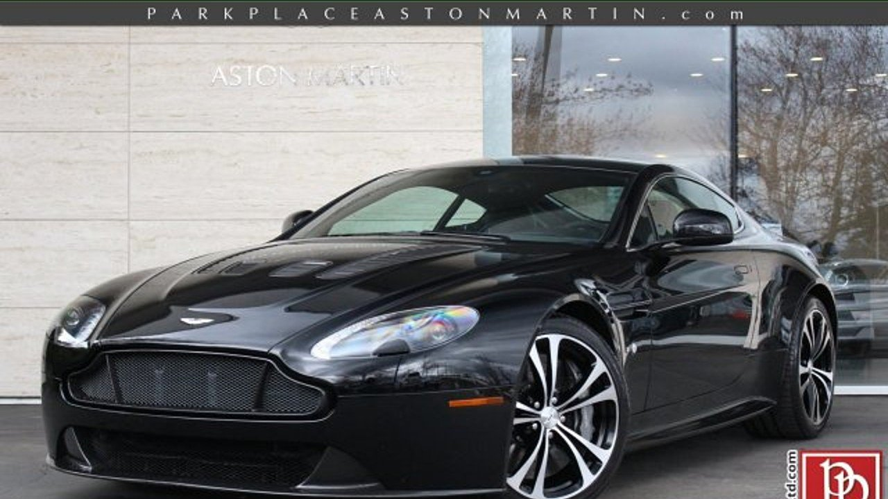 2015 Aston Martin V12 Vantage S Coupe For Sale Near Bellevue