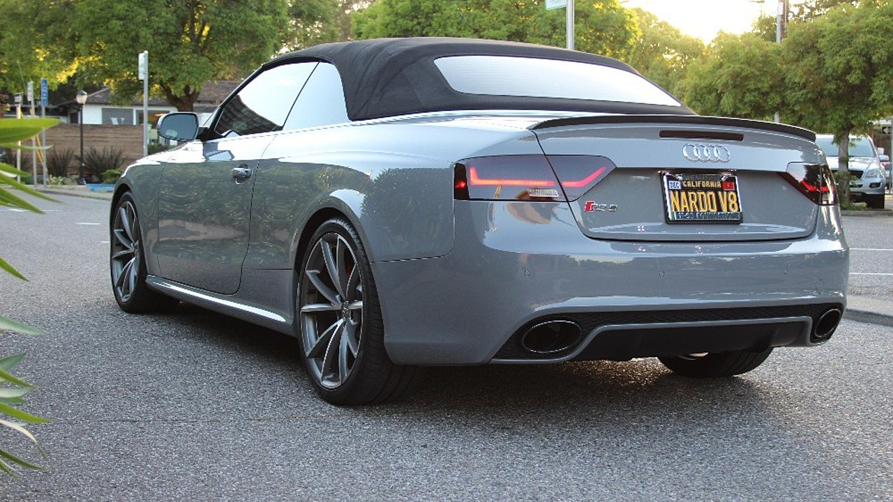 2015 audi rs5 cabriolet for sale near mountain view california 94040 classics on autotrader. Black Bedroom Furniture Sets. Home Design Ideas