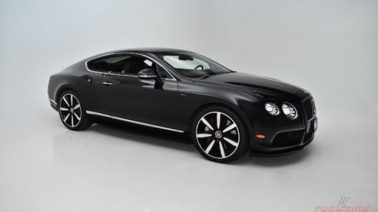 Bentley 2015 bentley : 2015 Bentley Continental GT V8 S Coupe for sale near Syosset, New ...