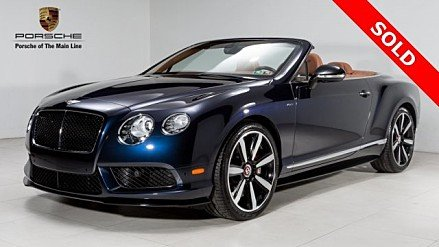 2015 Bentley Continental GT V8 S Convertible for sale 100913563