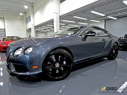 2015 Bentley Continental GT V8 S Coupe for sale 101040905