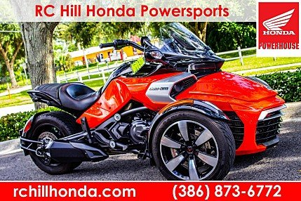 2015 Can-Am Spyder F3 for sale 200615779